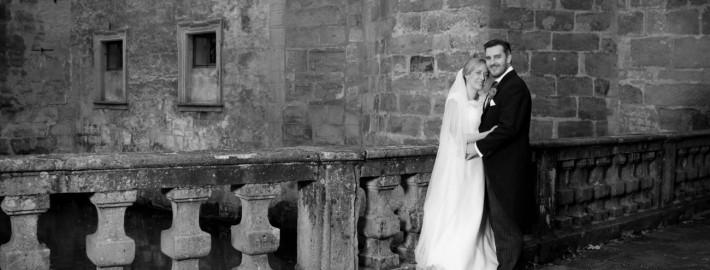 Brautpaar am Wasserschloss