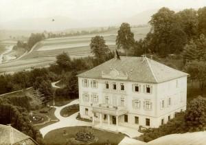 Oberes Schloss Mitwitz um 1900