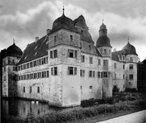 Wasserschloss Mitwitz um 1905