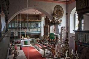 Jakobskirche Mitwitz Innen