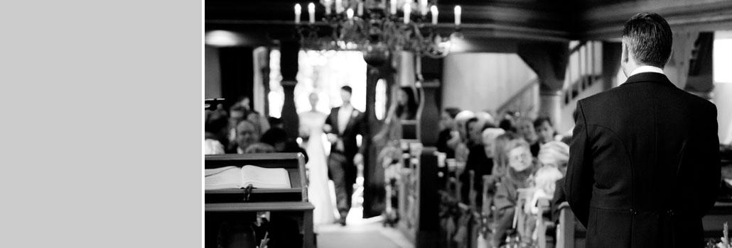 Hochzeit in der Kirche Mitwitz