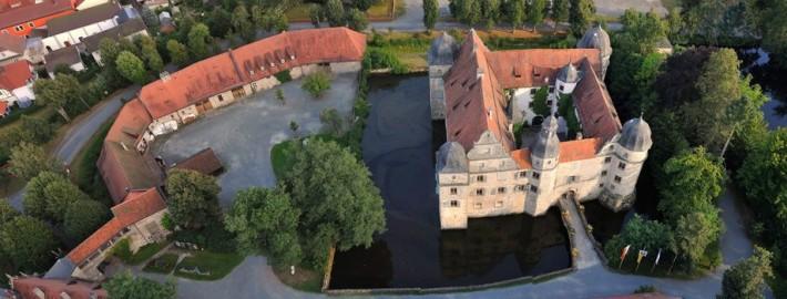 Wasserschloss Mitwitz und Remisen