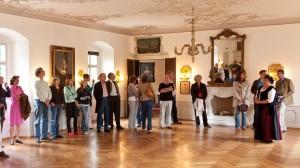 Weisser Saal im Wasserschloss Mitwitz