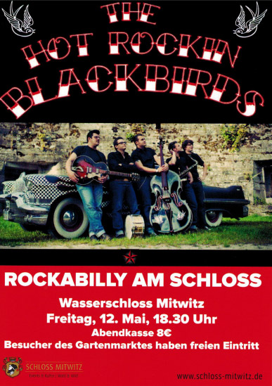 Hot Rocking Blackbirds Flyer